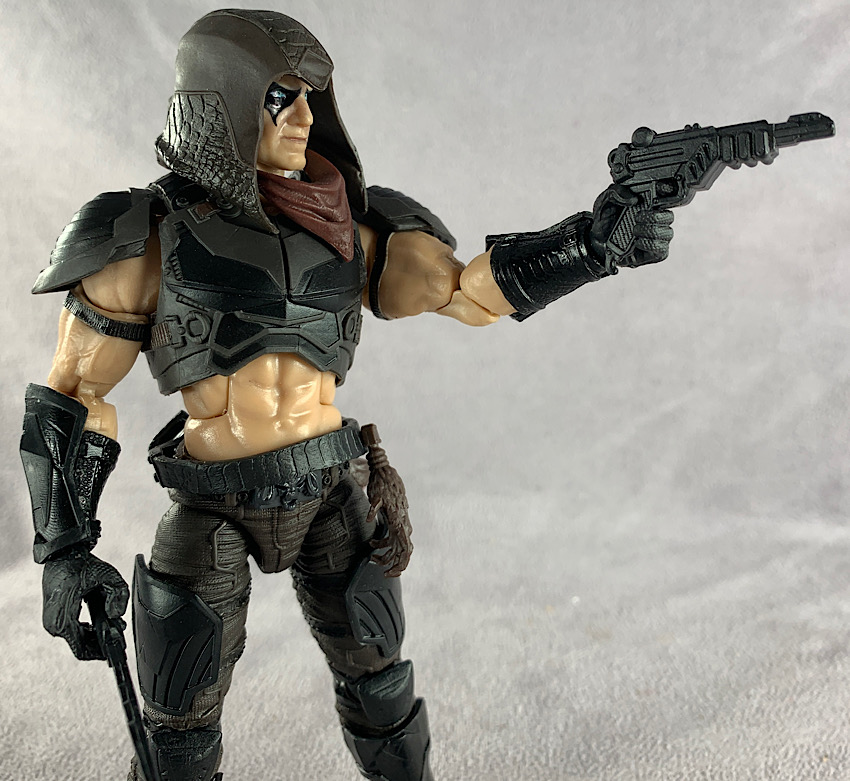 GIJOE CLASSIFIED GUNG HO ELBOW//ARM GUARD HOLSTER BACK ONLY LOT 61-6 INCH SCALE